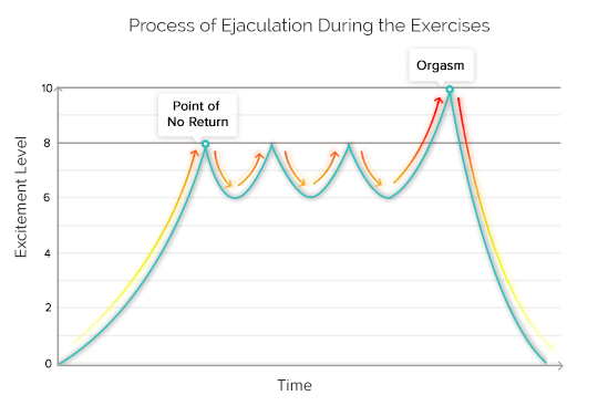 Process of Ejaculation During the Exercises