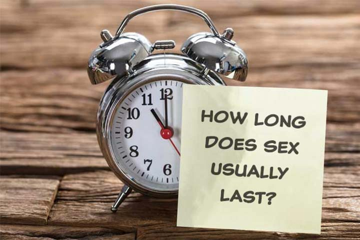 how long does sex last