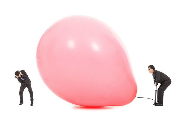 """Sexual tension builds up until it """"explodes"""" just like an overinflated balloon"""