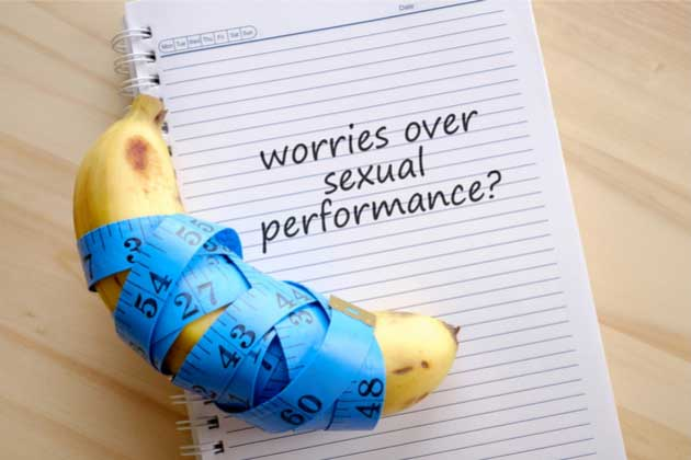 Worries over sexual performance
