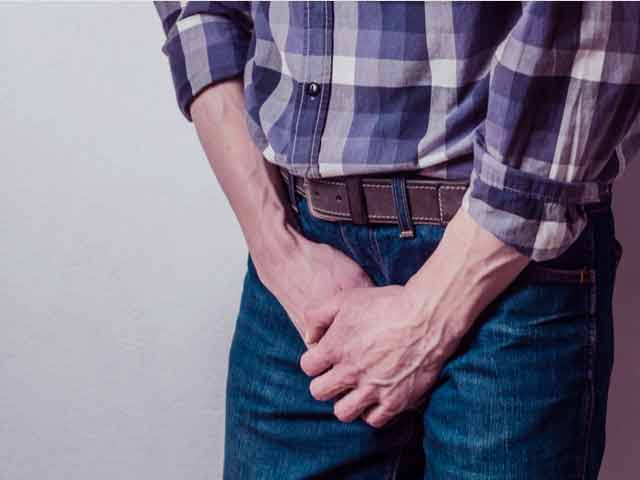 A man with a weak bladder worried about premature ejaculation